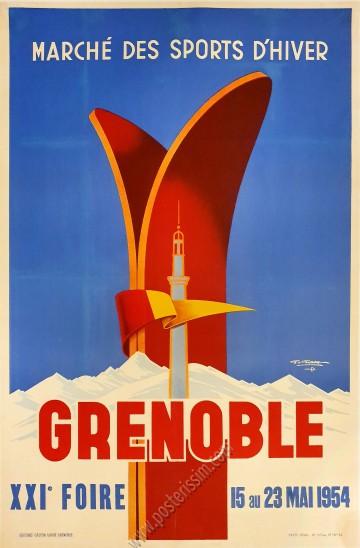 Grenoble : Marché des sports d'hiver