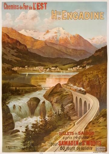 Chemins de fer de l'Est : Haute Engadine