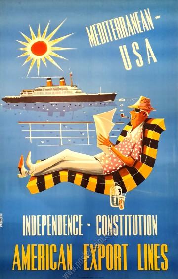 American Export Lines : Mediterranean-USA