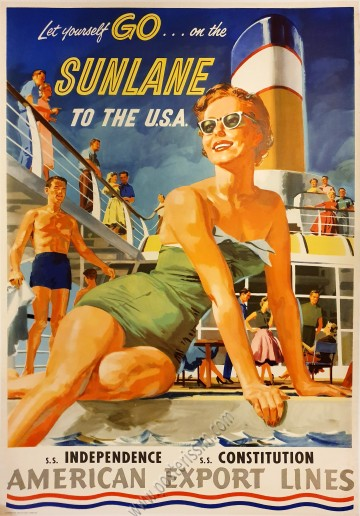 American Export Lines : Let yourself go on the Sunlane
