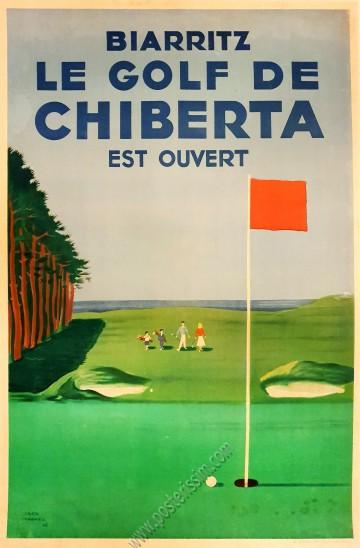 Biarritz : Le golf de Chiberta