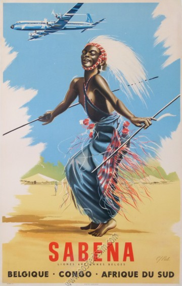 Sabena Congo Afrique du Sud