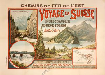 Chemins de fer de l'Est - Voyage en Suisse