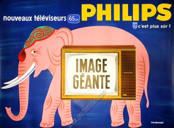 Philips - Noueaux téléviseurs, image géante