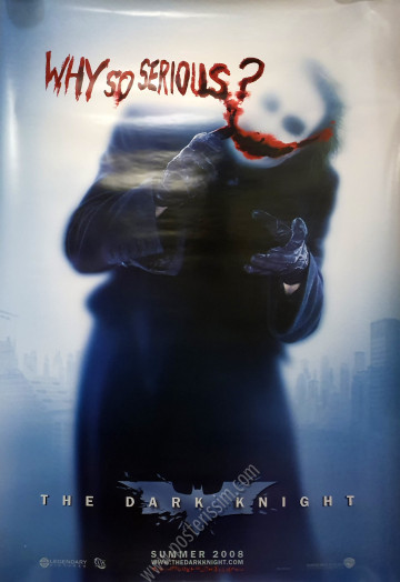 The Dark Knight - Why so serious ?