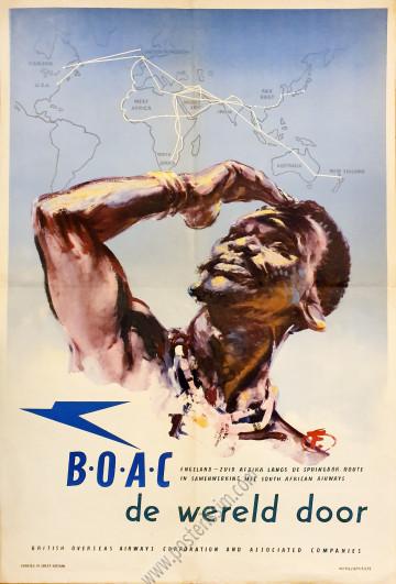 British Airways : B.O.A.C., der wereld door
