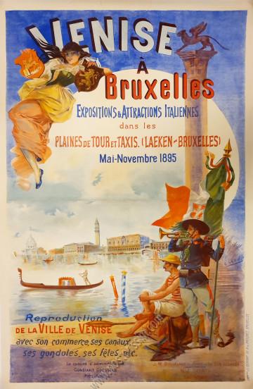 Venise à Bruxelles, expositions et attractions
