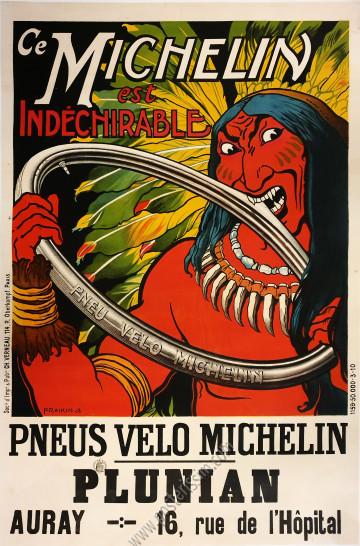 Michelin : Pneu vélo indéchirable