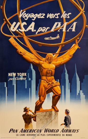 Pan Am : Voyagez vers les U.S.A. par PAA