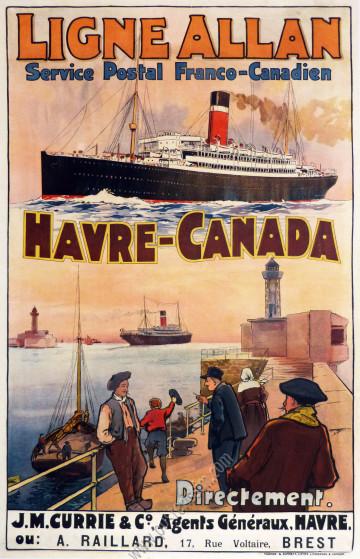 Ligne Allan : Havre-Canada