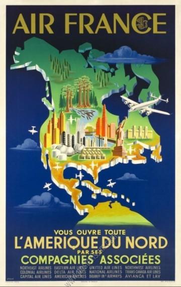 Air France vous ouvre toute l'Amérique du Nord