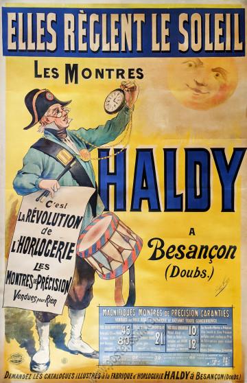 Les montres Haldy