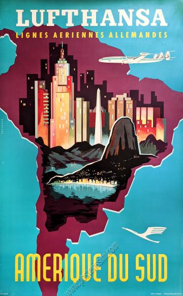 Lufthansa : Amérique du Sud