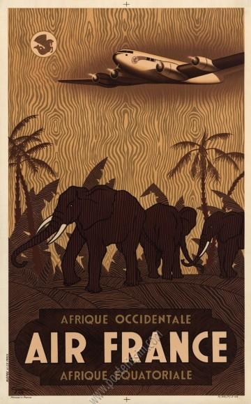 Air France Afrique occidentale Afrique équatoriale