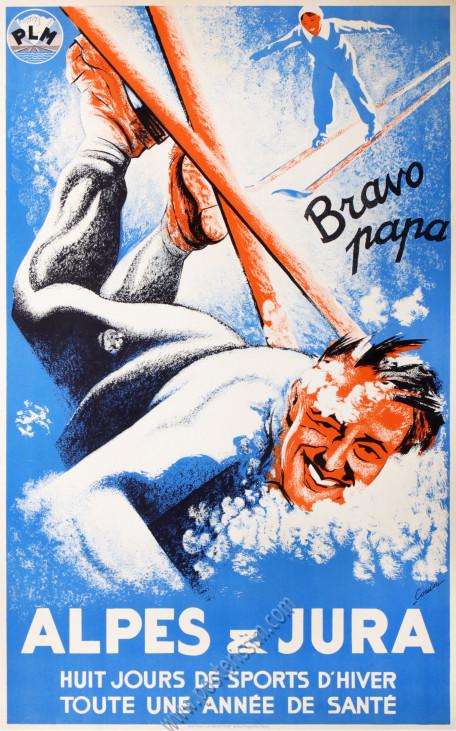 PLM : Alpes et Jura - Bravo Papa