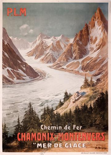 PLM : Chamonix-Montenvers, la Mer de Glace