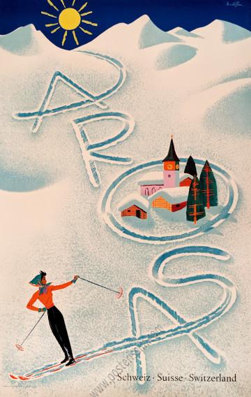 Suisse : Arosa