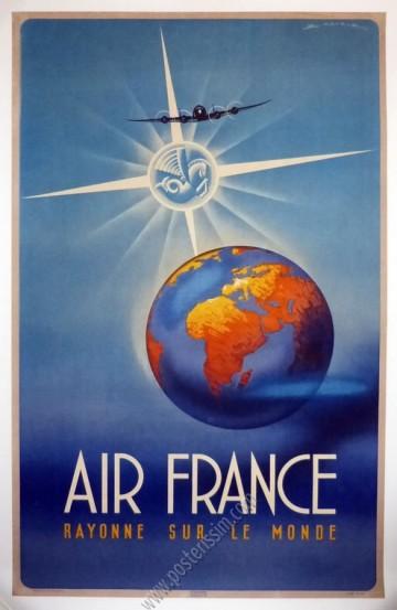 Air France rayonne sur le monde