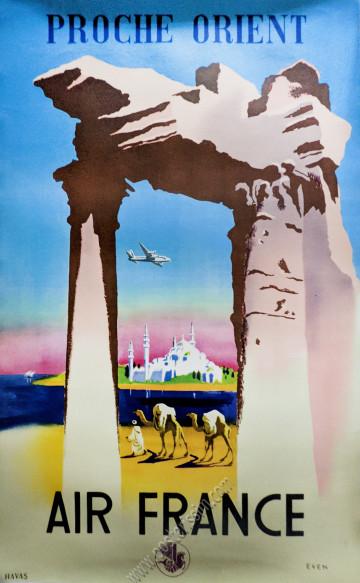 Air France : Proche Orient