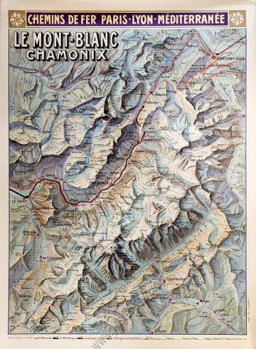 PLM : Le Mont-Blanc, Chamonix