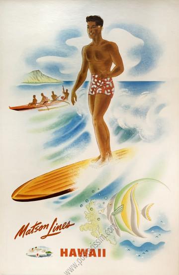 Matson Lines : Hawaii