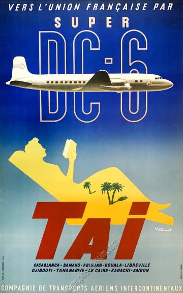 TAI : Vers l'Union française par Super DC-6