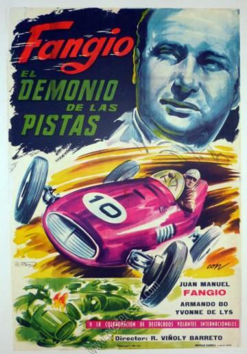 Fangio El Demonio de las Pistas