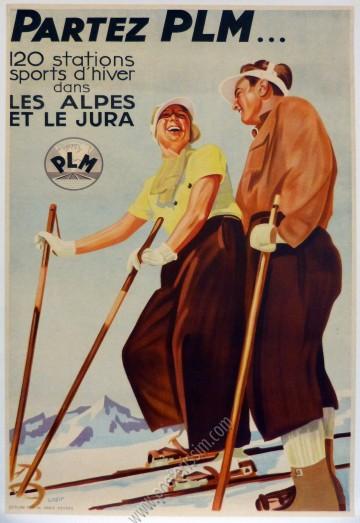 Partez PLM ... 120 stations sports d hiver dans les Alpes et le Jura