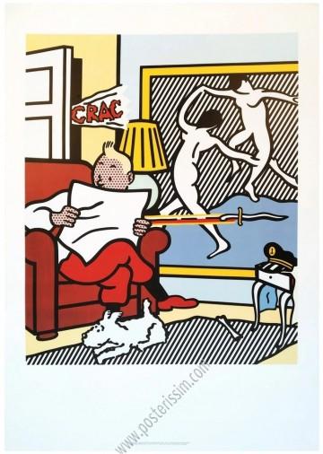 Tintin & Roy Lichtenstein