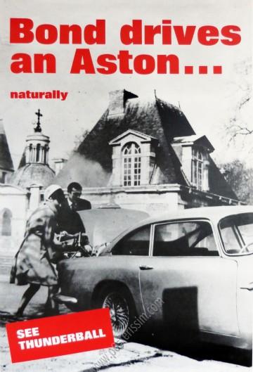 Bond drives an Aston… Naturally
