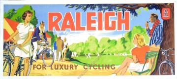 Raleigh for luxury cycling