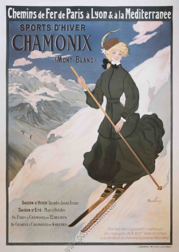 PLM : Sports d'hiver - Chamonix (Mont-Blanc)