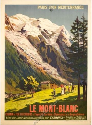 PLM : Mont Blanc, Chamonix
