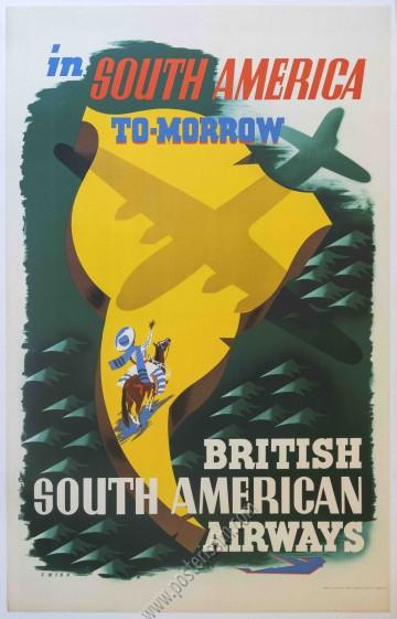 British Airways : In South America tomorrow