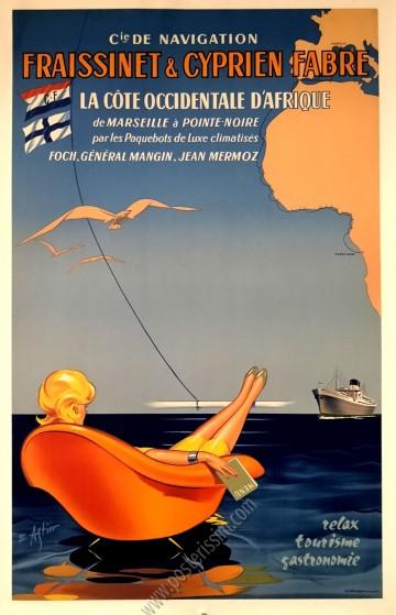 La côte occidentale d'Afrique