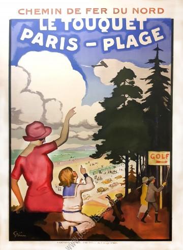 Chemin de fer du Nord : Le Touquet, Paris-Plage