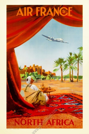Air France : North Africa