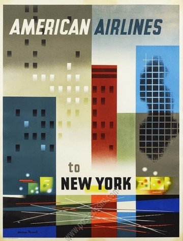 American Airlines to New York