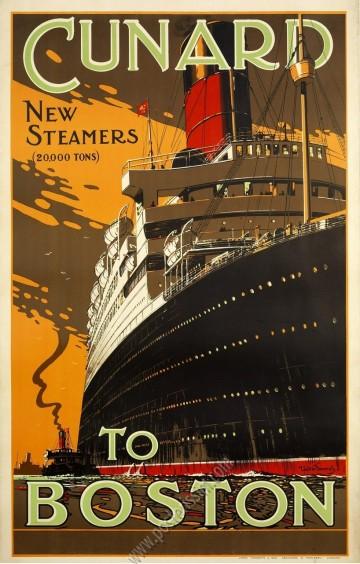 Cunard to Boston