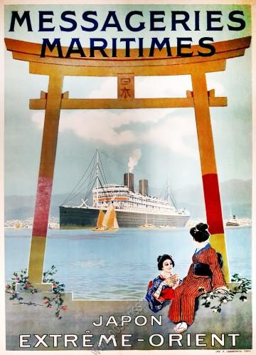 Messageries Maritimes : Japon, Extrême-Orient