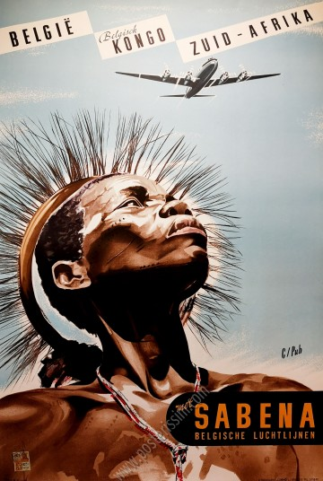 Sabena, België - Belgisch Kongo - Zuid Afrika