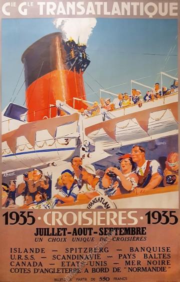 Compagnie générale transatlantique : Croisières