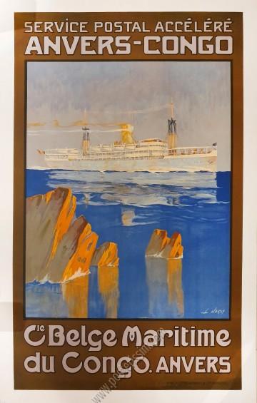 Compagnie Belge Maritime du Congo : Anvers