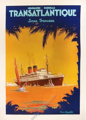 Compagnie Générale Transatlantique : Linea Francesa