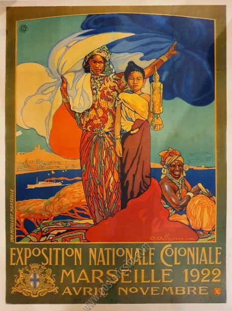 Exposition nationale coloniale de Marseille, 1922