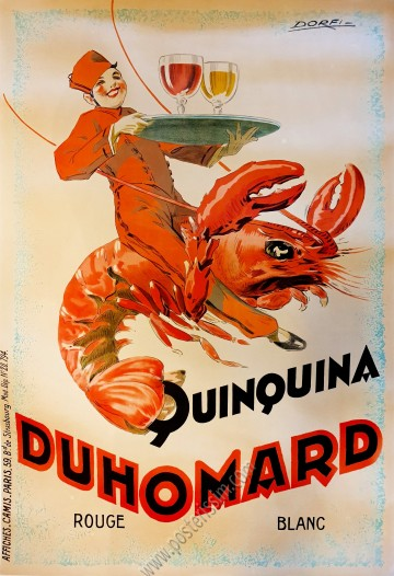 Quinquina - Du homard