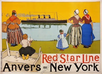 Red Star Line : Anvers New York