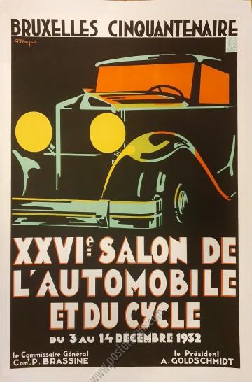 Salon de l'Auto de Bruxelles 1932