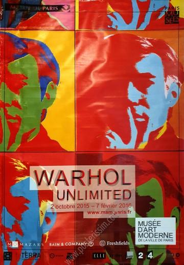 Musée d'Art Moderne Paris : Warhol Unlimited