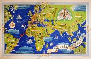 Air France : Réseau aérien mondial